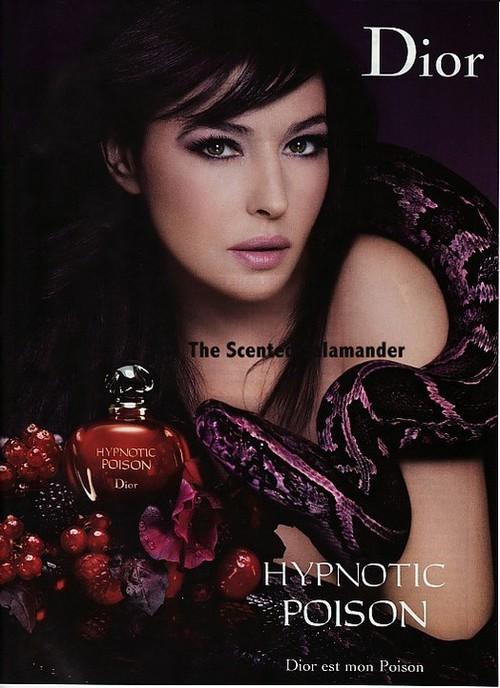 Моника Беллучи в рекламе Hypnotic Poison