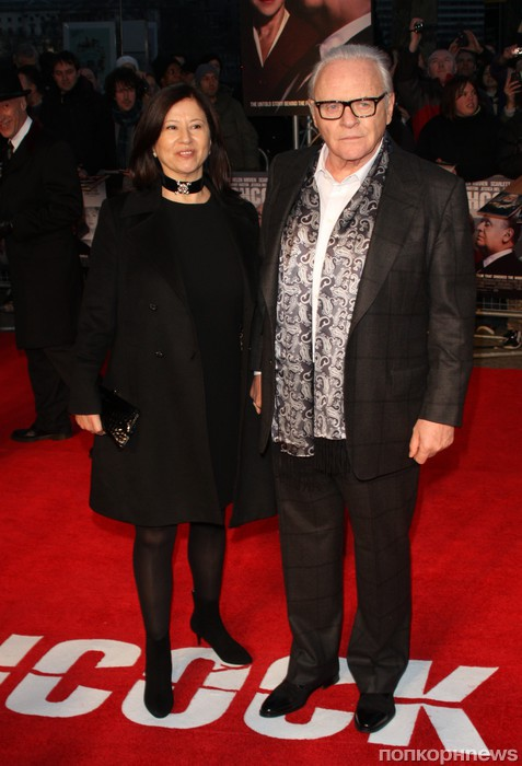 Энтони Хопкинс с супругой