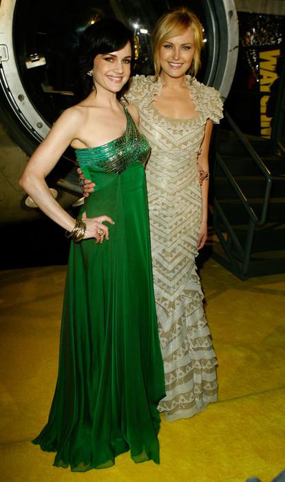 Malin Akerman with Carla Gugino