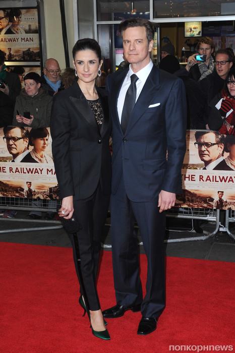 Колин Ферт с супругой