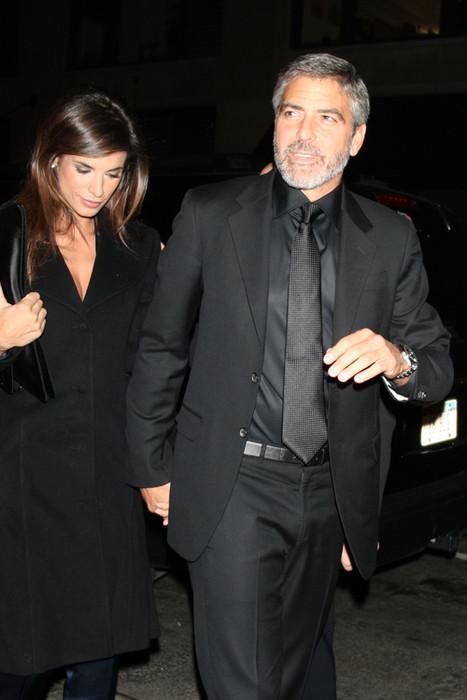 Джордж Клуни и Элизабетта Каналис