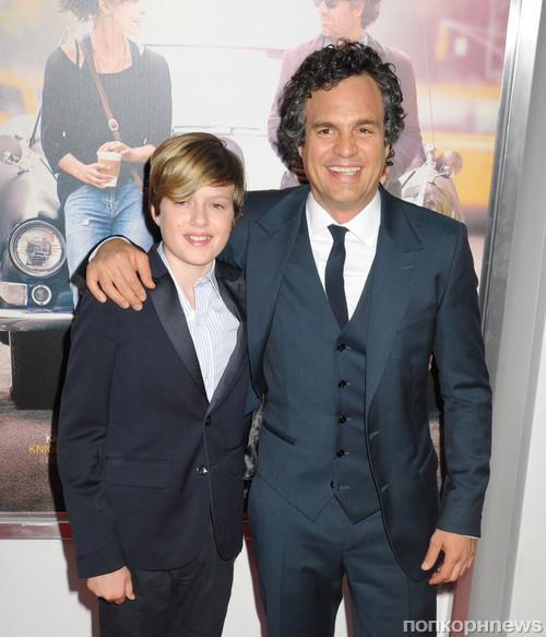 Марк Руффало с сыном