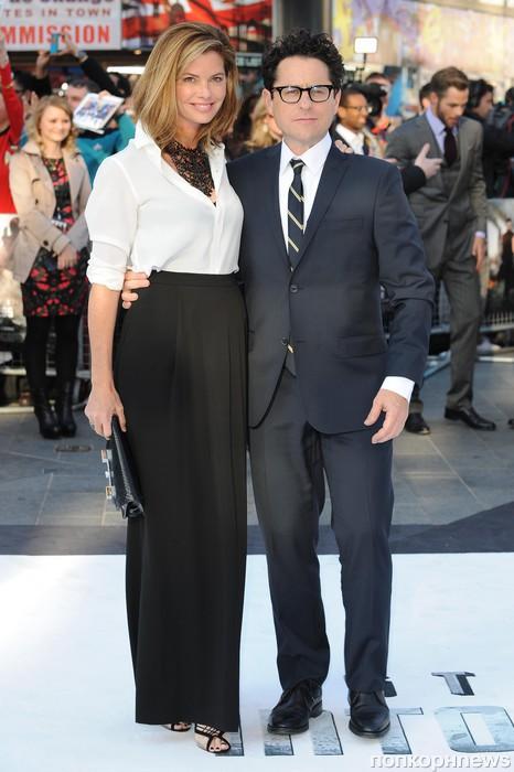 Джей Джей Абрамс и его жена