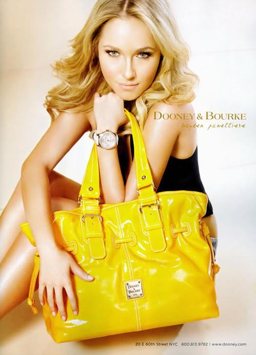 Хайден Панеттьери в рекламе 2007 года