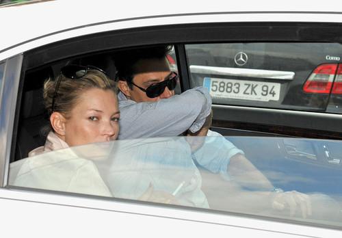 Кейт Мосс и Джейми Хинс