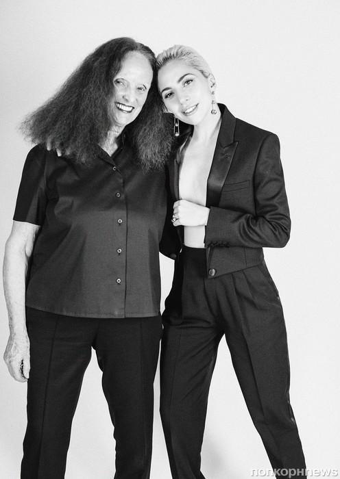 Леди Гага и Грейс Коддингтон