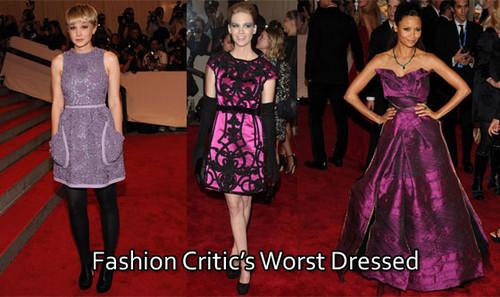 худшие платья с Costume Institute Gala