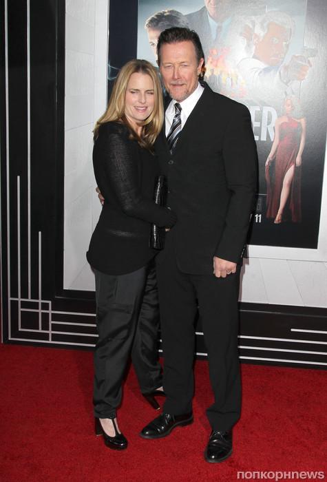 Роберт Патрик с женой