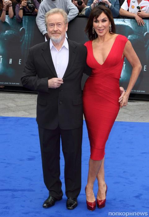 Ридли Скотт и его жена Джианнина Фасио