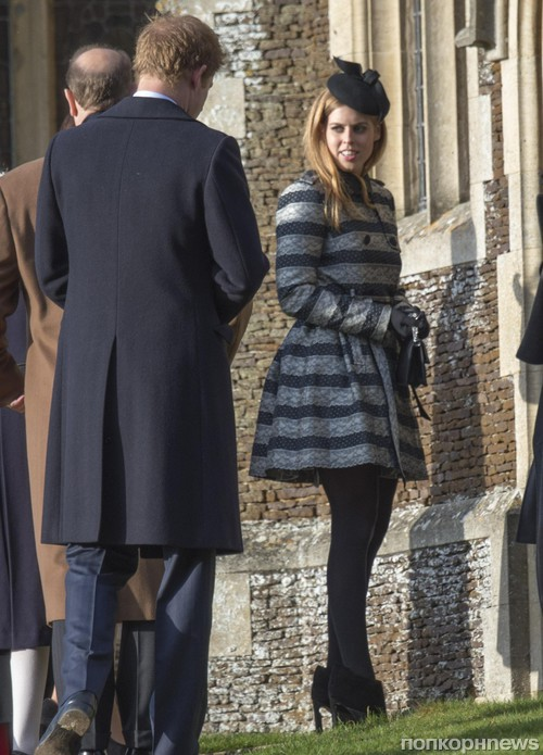 принц Гарри и принцесса Беатрис