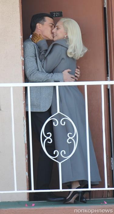 Lady GaGa на съемках «Американской истории ужасов»