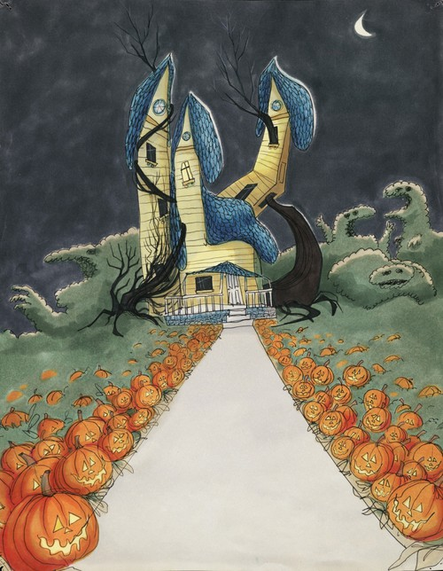 рисунок Тима Бертона