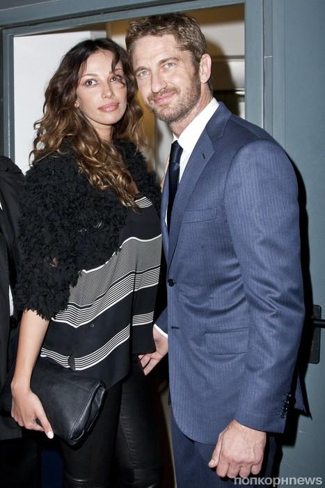 Джерард Батлер и его девушка