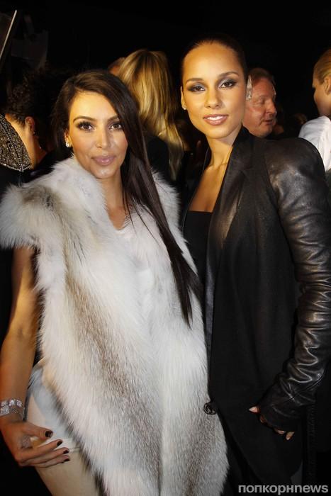 Ким Кардашиан и Алиша Киз