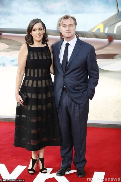 Кристофер Нолан с супругой