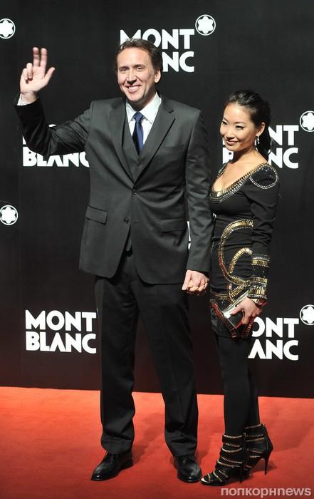 Николас Кейдж и его жена