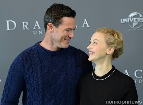 Люк Эванс и Сара Гадон