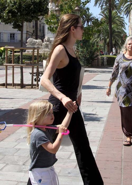 Анджелина Джоли и Шайло