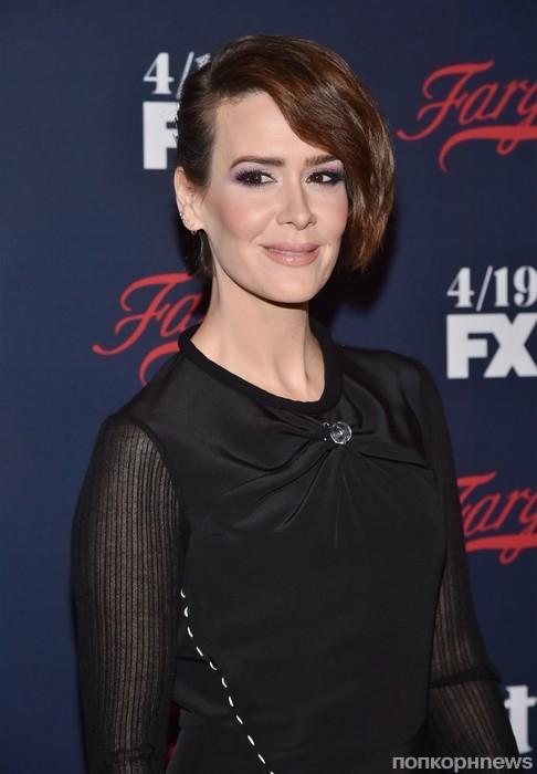 Сара Полсон на презентации канала FX All-star Upfront 2017