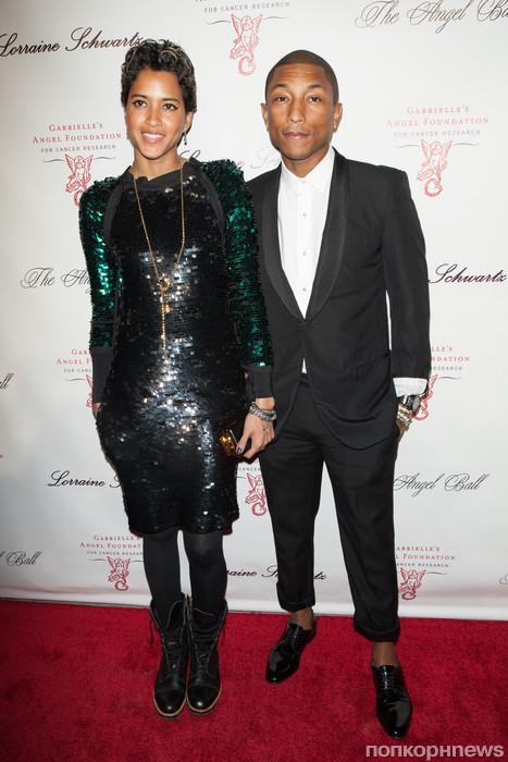Фаррелл Уильямс с женой