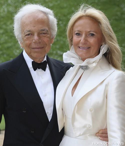 Ральф Лорен с женой