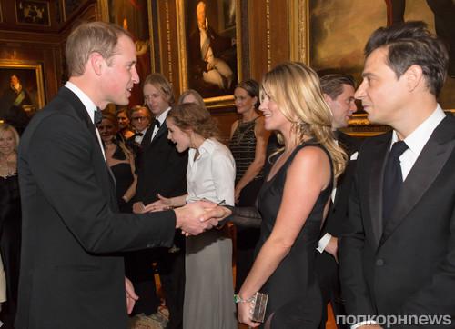 Принц Уильям и Кейт Мосс