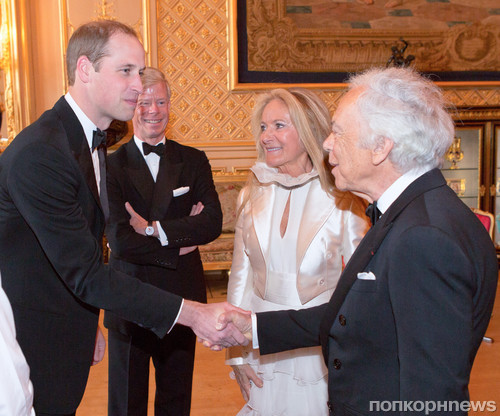 Принц Уильям и Ральф Лорен