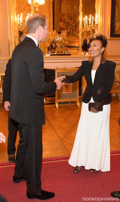 Принц Уильям и Эмили Санде