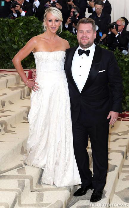 Джеймс Корден с женой