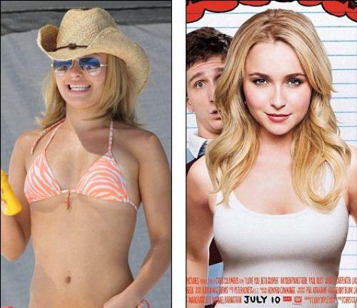 Секреты Photoshop: Хайден Панеттьери увеличили грудь