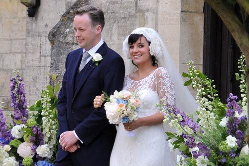 Лили Аллен вышла замуж и ждет ребенка