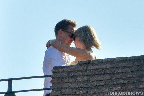 Тейлор Свифт и Том Хиддлстон отправились на романтический отдых в Риме