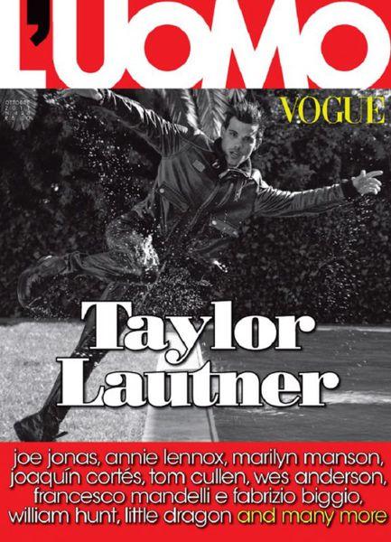 Тэйлор Лотнер в журнале L'Uomo Vogue Италия. Октябрь 2011