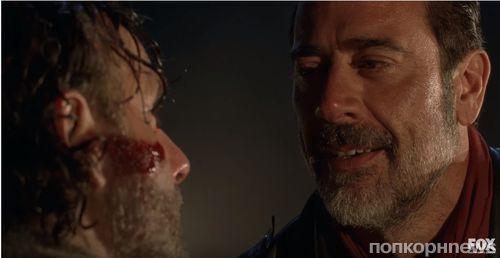 Создатели «Ходячих мертвецов» показали первый видео фрагмент премьеры 7 сезона