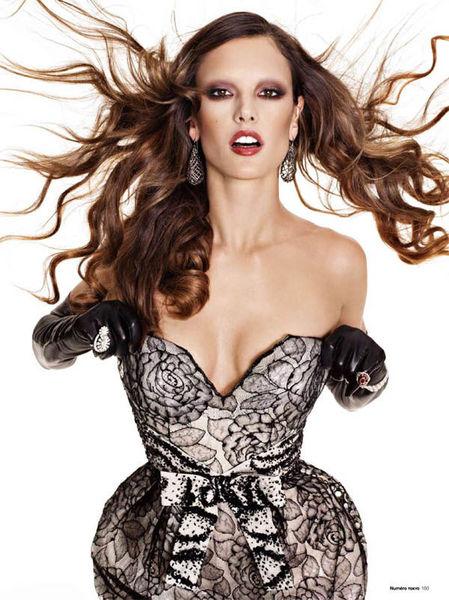 ���������� �������� � �������� Numéro. ������.  ������ / ������� 2011 � Vogue. �������. ������� 2010