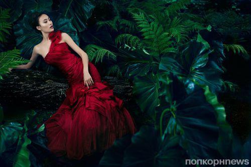 Рекламная кампания Vera Wang. Весна / лето 2013