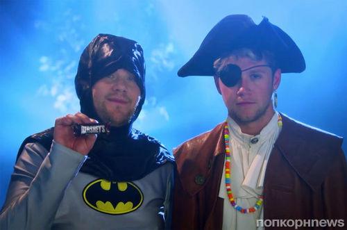 Найл Хоран и Джеймс Корден сняли пародийный видеоклип на Хэллоуин