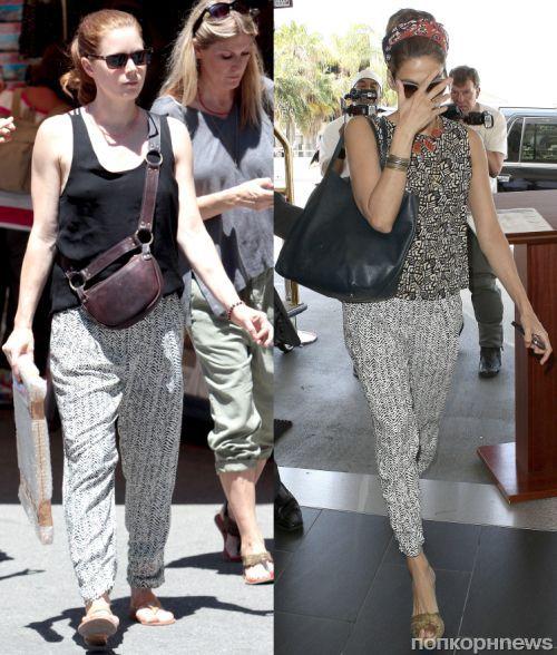 Fashion battle: Эми Адамс и Ева Мендес