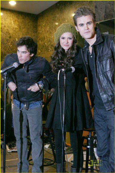 Актеры сериала «Дневники вампира» в Нью Джерси