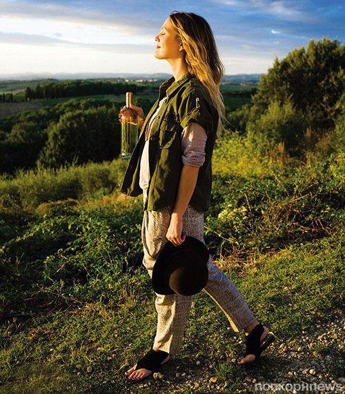 Дрю Бэрримор в журнале Haute Living. Октябрь 2012