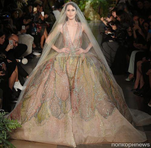 Платья длинные из показа мод