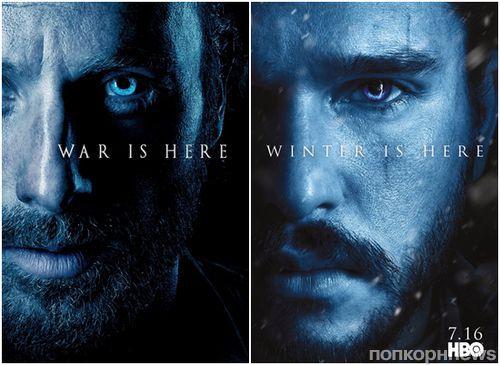 «Ходячие мертвецы» напомнили о себе на фоне премьеры 7 сезона «Игры престолов»