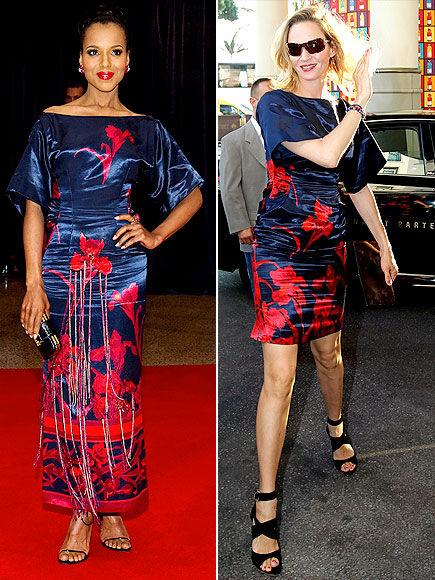 Fashion Battle: Керри Вашингтон и Ума Турман