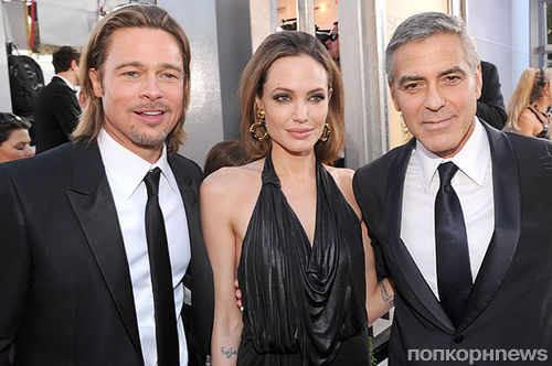 Джордж Клуни прокомментировал развод Анджелины Джоли и Брэда Питта