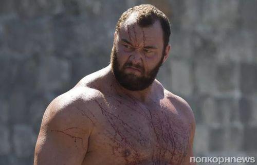 Актер из «Игры престолов» признан сильнейшим человеком в мире