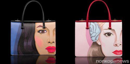 Современное искусство на сумках Prada