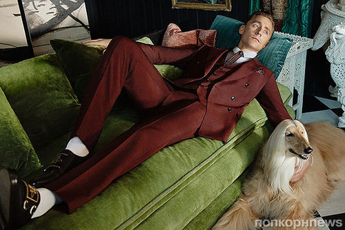 Том Хиддлстон снялся в рекламной кампании Gucci