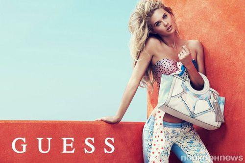 Рекламная кампания аксессуаров Guess. Весна 2014