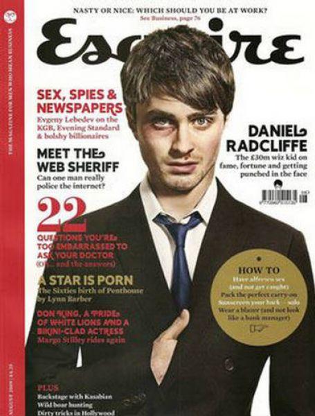 Дэниел Рэдклифф в журнале Esquire UK. Август 2009