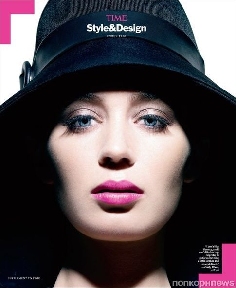 Эмили Блант в журнале TIME Style and Design. Весна 2012